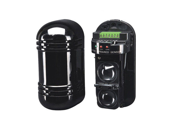 2 Beams Infrared Beam Detector Waterproof Active Anti-intrusion Outdoor Sensor