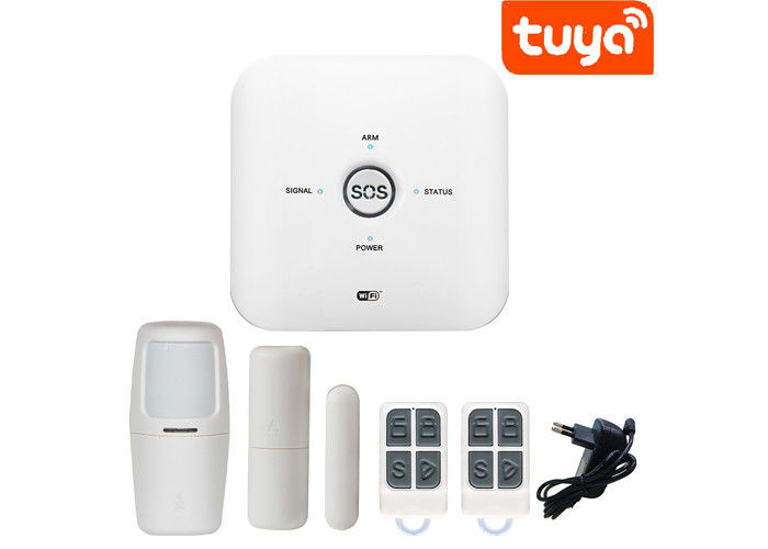 APP Control Mini Wireless Home Alarm Systems 433 TUYA GSM WIFI Burglar Alarm